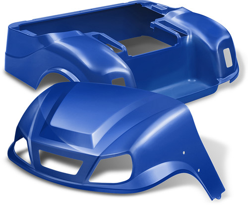 Doubletake EZ-GO TXT Titan Golf Cart Body Kit  in Metallic High Gloss Blue