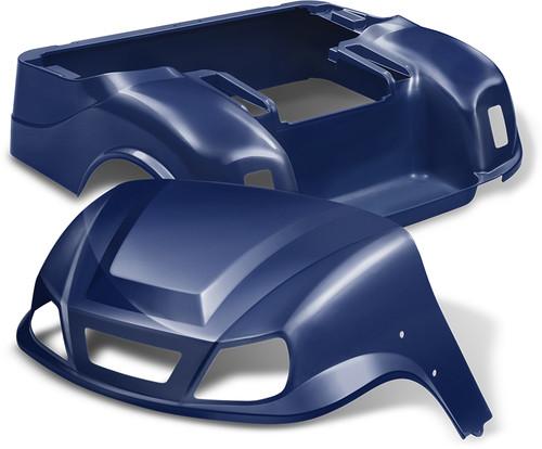 Doubletake EZ-GO TXT Titan Golf Cart Body Kit  in High Gloss Navy Blue
