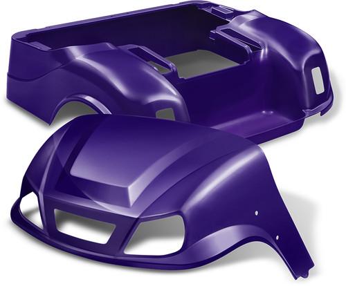 Doubletake EZ-GO TXT Titan Golf Cart Body Kit  in High Gloss Purple