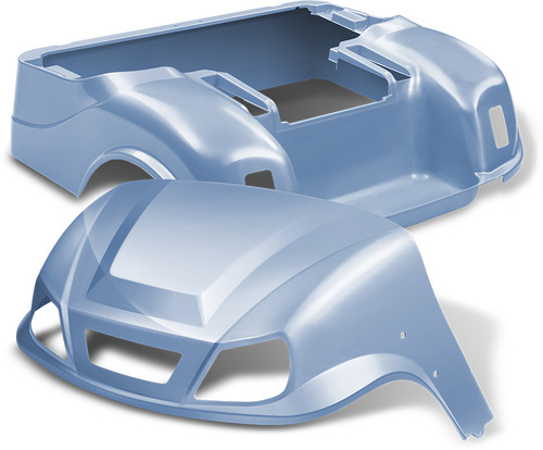 Doubletake EZ-GO TXT Titan Golf Cart Body Kit in High Gloss Sky Blue