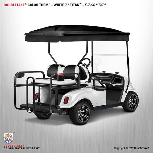 Doubletake EZ-GO TXT Titan Golf Cart Body Kit in High Gloss White