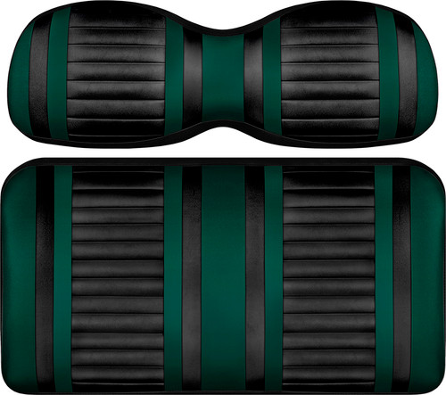Doubletake Deluxe Extreme  Front Seat Cushion Set Black-Green