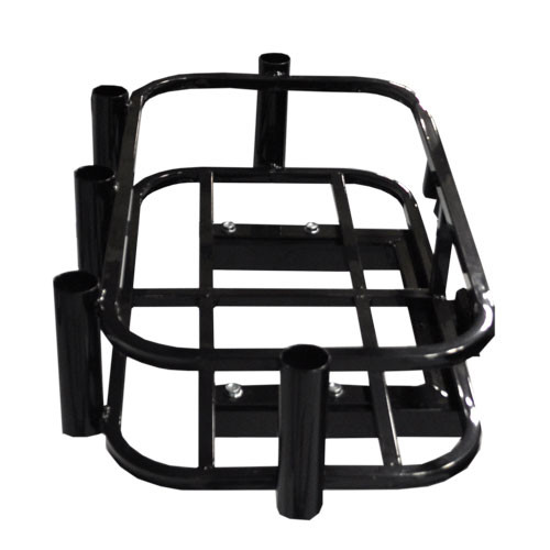 Hitch Mount Cooler/Rod Holder Rack