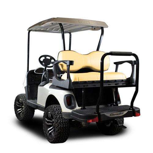 Genesis 250 Steel Frame Seat Kit w/ Standard Sandstone Cushion Set will fit *E-Z-Go® RXV®