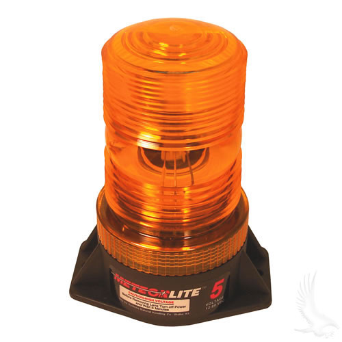 High Intensity Strobe Light, Amber 12-80VDC