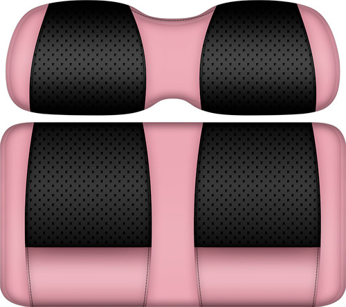 Doubletake Clubhouse Edition  Front Seat Cushion Set Black-Pink