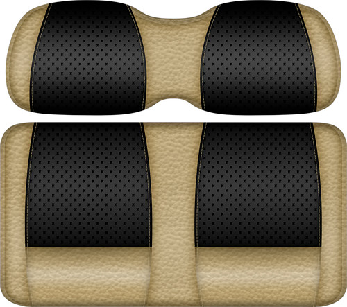 Doubletake Clubhouse Edition  Front Seat Cushion Set Black-Sand