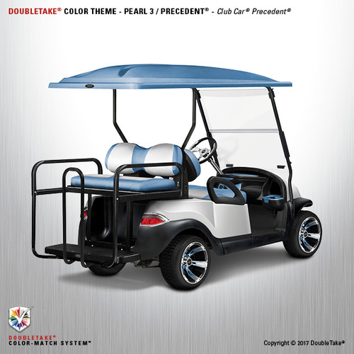 Club Car Precedent Factory Style Golf Cart Body Kit in White Pearl
