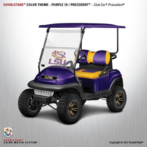 Club Car Precedent Factory Style Golf Cart Body Kit in High Gloss Purple