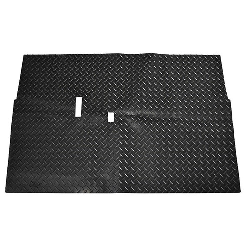 Diamond Plate Floor Mat Club Car DS