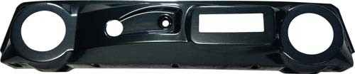 Club Car DS Dash Carbon Fiber with Radio.Speaker Cutouts