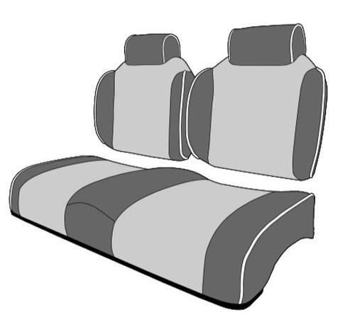 Premium Contour Golf Cart Seat With High Backs Headrest
