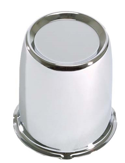 "CENTER CAP, 2.65"" CHROME STEEL"