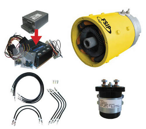 Complete High Torque Golf Cart Motor-Controller Kit