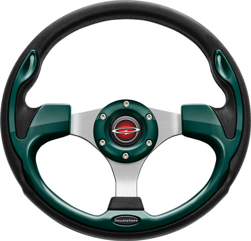 "Pilot 13"" Color Matched Steering Wheel Green"