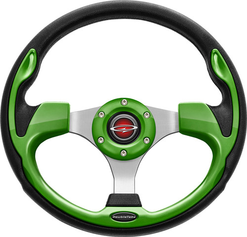 "Pilot 13"" Color Matched Steering Wheel Lime"