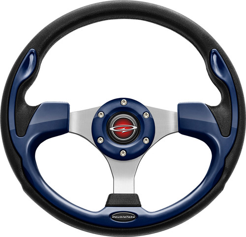 "Pilot 13"" Color Matched Steering Wheel Navy"