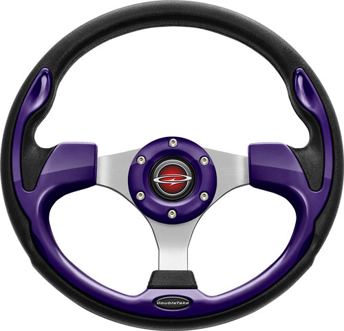 "Pilot 13"" Color Matched Steering Wheel Purple"