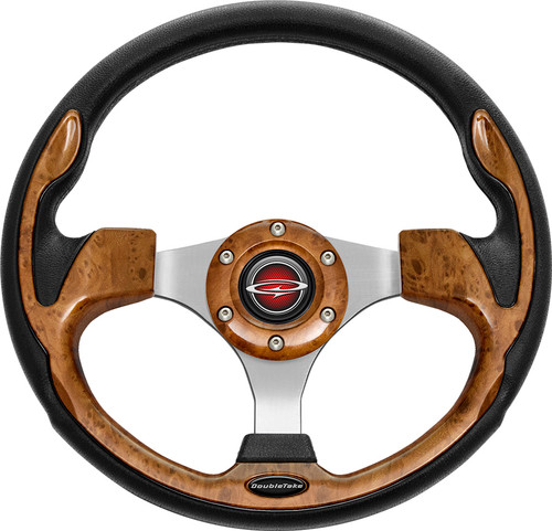 """Pilot 13"""" Color Matched Steering Wheel Wood"""