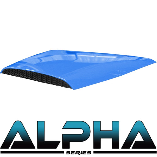 Hood Scoop for Alpha Body Off Road or Street Blue