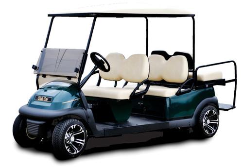 Club Car Gas Precedent Gas with EFI 6 Passenger Limo Kit