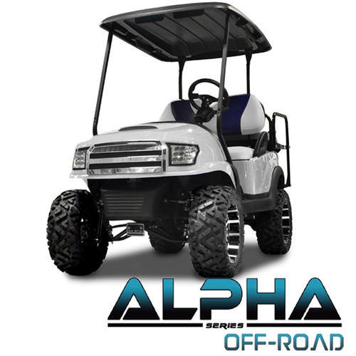 Madjax Alpha White  Front Cowl w/ Off-Road Grill & Headlights