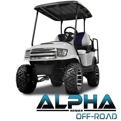 Madjax Alpha White  Front Cowl w/ Off-Road Grill & Headlights