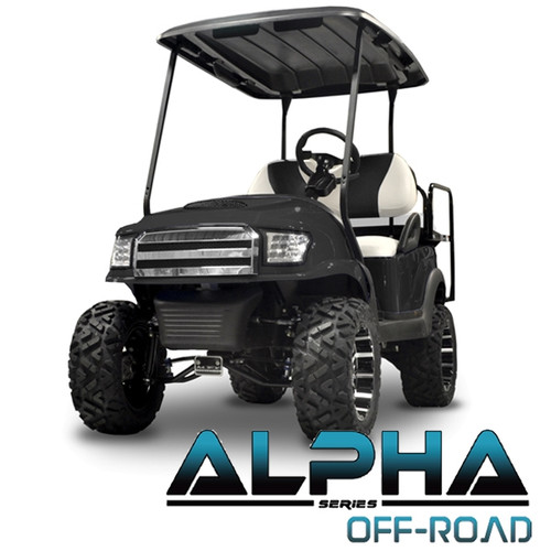 Madjax Alpha Black  Front Cowl w/ Off-Road Grill & Headlights