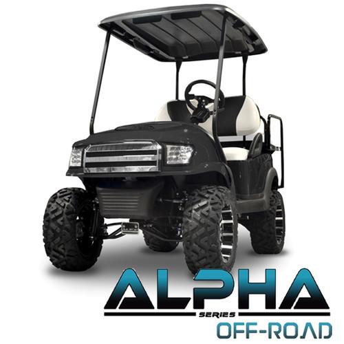 Madjax Alpha Black  Front Cowl w/ Off-Road Grill & Headlights