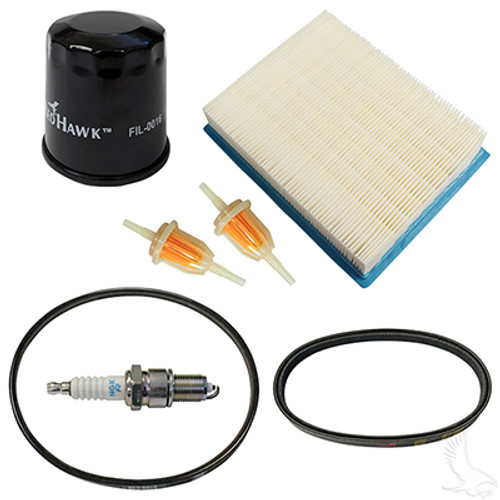 Deluxe Tune Up Kit, Club Car DS 4 cycle Gas 97+ w/Oil Filter