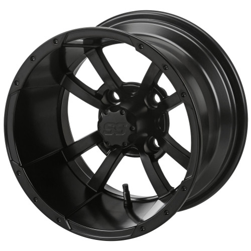 LSC Maltese Cross SS Matte Black 3+4 Offset