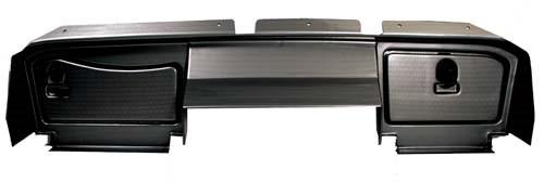 Dashboard EZ-Go RXV Carbon Fiber  with Locking Doors