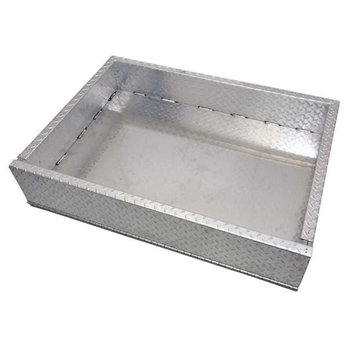 RHOX Golf Cart  Aluminum Diamond Plate  Box Only