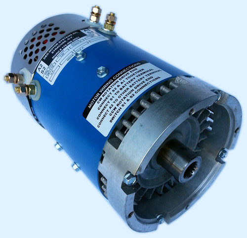 DD Motor systems 19HP Series Motor for Yamaha G series carts