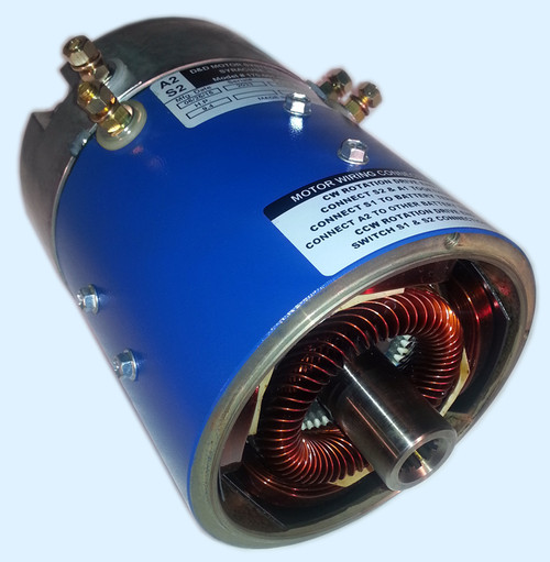 D&D Motor 10.5 HP 36V Series Systems 24MPH