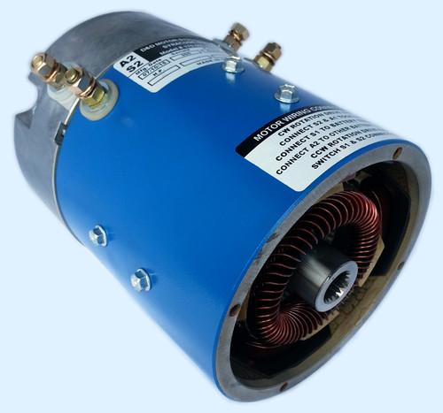 D&D Motor 8.1HP -10% Torque Speed  18 MPH
