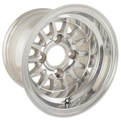Medusa Polished 10X7 Wheel 3:4 offset