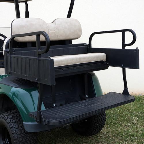 RHINO 900 Series Rear Seat/Cargo Box Kit for EZ-GO RXV Stone Beige