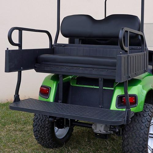 RHINO 900 Series Rear Seat/Cargo Box Kit for Club Car DS Black