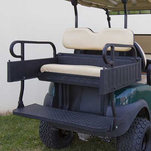 RHINO 900 Series Rear Seat/Cargo Box Kit for Club Car Precedent Beige