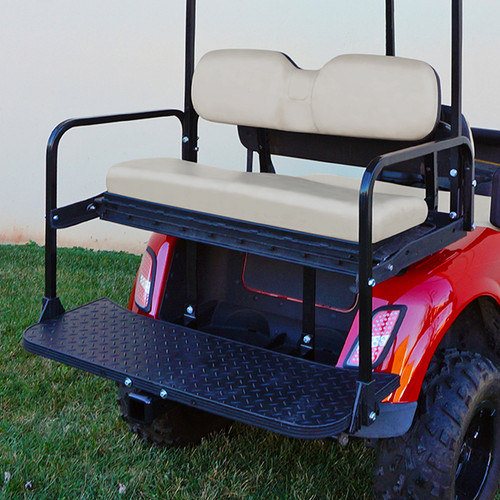 RHOX 400 Series Steel Rear Flip Seat for EZGO RXV Oyster