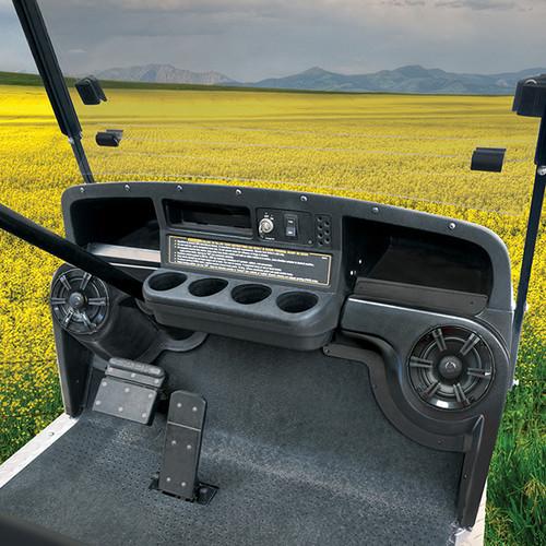 Speaker Pod, SET OF 2, Black ABS, E-Z-Go TXT 94+
