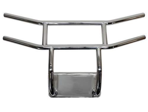 Brush Guard, Stainless Steel, Front, Yamaha Drive2