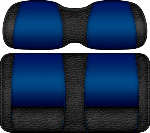Veranda Edition Golf Cart Seat Black-Blue
