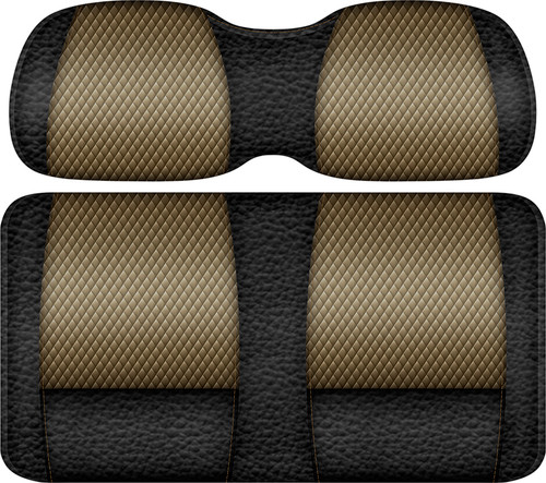Veranda Edition Golf Cart Seat Black-Bronze
