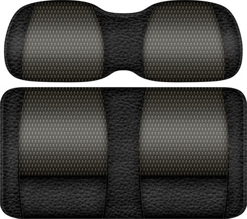 Veranda Edition Golf Cart Seat Black-Graphite