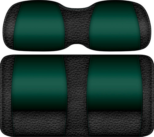 Veranda Edition Golf Cart Seat Black-Green
