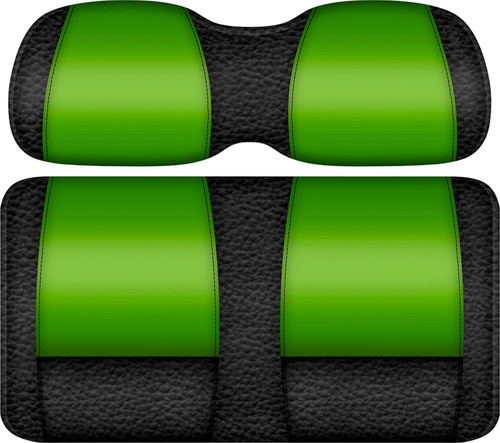Veranda Edition Golf Cart Seat Black-Lime