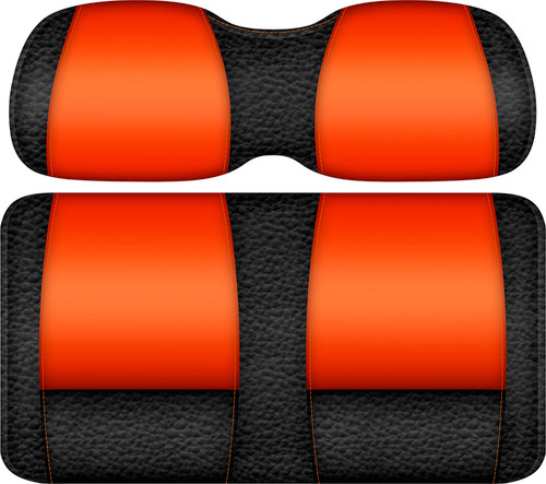 Veranda Edition Golf Cart Seat Black-Orange