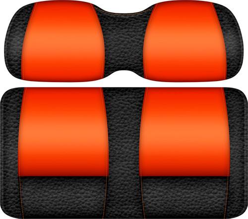 Veranda Edition Golf Cart Seat Black-Orange